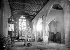 Eglise Notre-Dame - Vue intérieure de la nef vers le choeur