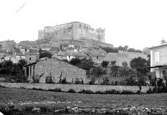 Château des Templiers - Vue générale prise du sud-ouest