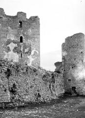 Château des Templiers - Donjon et tour