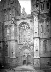 Eglise Notre-Dame du Bon-Secours - Façade sud au niveau du portail