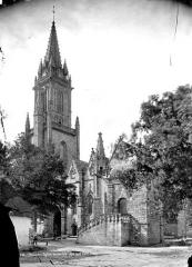 Eglise Notre-Dame-de-Quelven et abords - Ensemble sud