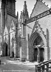 Eglise Notre-Dame-de-Quelven et abords - Façade sud