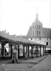 Eglise Notre-Dame - Halle et clocher