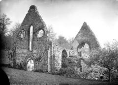 Ruines de la chapelle de Guériteau - Ruines de l'ancien monastère : Ensemble sud-ouest