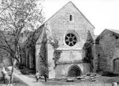 Ancienne abbaye de Beaulieu - Eglise : Ensemble nord-ouest