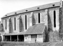 Ancienne abbaye de Beaulieu - Eglise : Façade sud