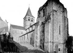 Ancien prieuré de Graville ou ancienne abbaye de Sainte-Honorine - Eglise : Ensemble nord-ouest