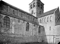 Ancien prieuré de Graville ou ancienne abbaye de Sainte-Honorine - Eglise : Façade sud