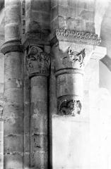 Ancien prieuré de Graville ou ancienne abbaye de Sainte-Honorine - Eglise : Chapiteaux