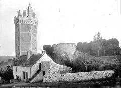 Château - Tour, côté ouest