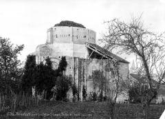 Ancien prieuré Saint-Léonard - Eglise (ruines) : Abside