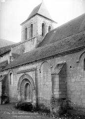 Eglise paroissiale Saint-Gilles - Façade nord et clocher