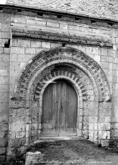 Eglise paroissiale Saint-Gilles - Portail de la façade nord