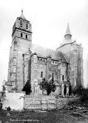 Eglise paroissiale Saint-Laurent - Façade sud