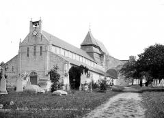 Eglise Saint-Valentin - Ensemble sud-ouest