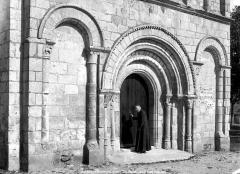 Eglise Saint-André - Portail de la façade ouest