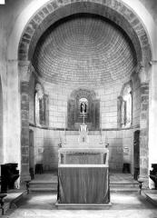 Eglise Saint-André - Vue intérieure du choeur