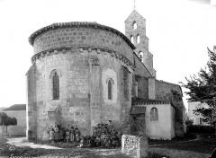 Eglise Saint-Jean-Baptiste de Cazeaux - Ensemble nord-est