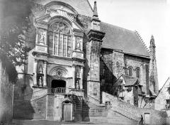 Cathédrale de la Trinité - Façade nord au niveau du transept