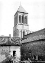 Eglise Saint-Pierre - Clocher, côté sud-ouest