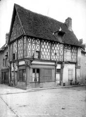 Maison de bois, dite Maison Saint-Jacques - Vue d'ensemble