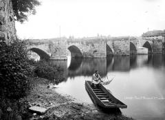 Pont Saint-Martial - Premières arches, côté est