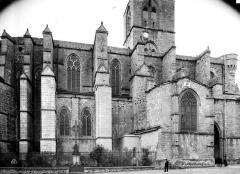 Ancienne cathédrale, actuelle église paroissiale Saint-Fulcran - Façade nord