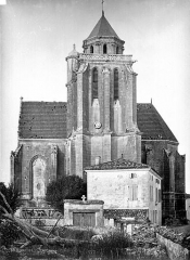 Eglise Sainte-Marie ou Notre-Dame - Ensemble sud
