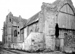 Eglise Saint-Pierre - Façades nord et ouest