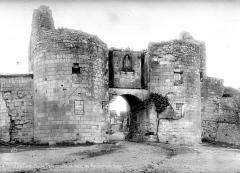Porte du Martray - Vue d'ensemble extra-muros