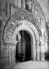 Ancienne collégiale Saint-Ours - Portail de la façade ouest