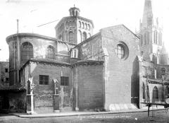 Eglise Saint-Paul - Façade nord : Abside et transept
