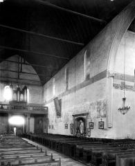 Eglise Saint-Martin - Vue intérieure de la nef vers le nord-ouest