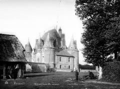 Château de Martainville - Ensemble sud-ouest
