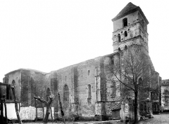 Eglise Sainte-Quitterie du Mas d'Aire - Ensemble nord-ouest