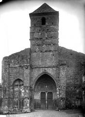 Eglise Sainte-Quitterie du Mas d'Aire - Façade ouest