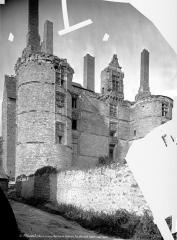 Château - Façade sud-ouest