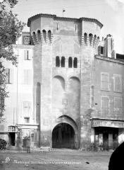 Porte de la Saunerie - Vue d'ensemble, côté sud