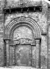 Ancienne église Saint-Savinien - Portail de la façade ouest