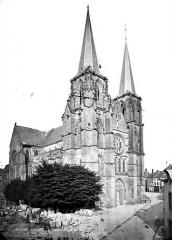 Eglise abbatiale Notre-Dame - Ensemble nord-ouest