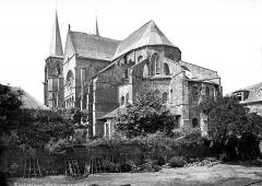 Eglise abbatiale Notre-Dame - Ensemble sud-est