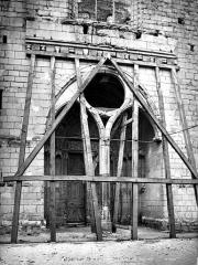 Eglise Sainte-Marie-Madeleine - Portail de la façade ouest