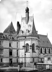 Domaine de Mesnières - Chapelle : Abside côté nord