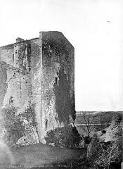 Ruines du château dit de Terride - Façade extérieure