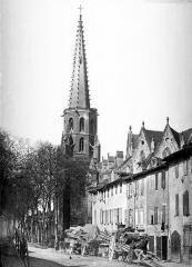 Ancienne cathédrale Saint-Maurice, actuellement église paroissiale - Clocher