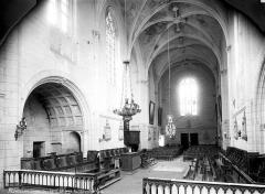 Eglise paroissiale Saint-Jean-Baptiste - Vue intérieure de la nef vers le sud-ouest
