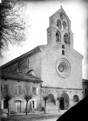 Eglise Saint-Christophe des Templiers - Façade ouest
