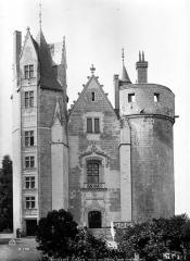 Château - Château-Neuf : Façade nord sur cour