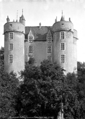 Château - Château-Neuf : Façade ouest