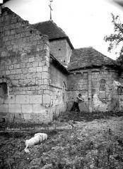 Ancien prieuré Saint-Gilles - Abside, côté sud